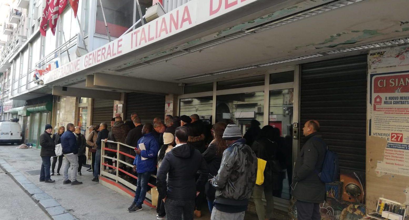 REDDITO DI CITTADINANZA: LE PRIME RICHIESTE AL CAAF CGIL CAMPANIA