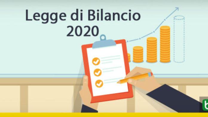 LEGGE DI BILANCIO 2020, NOVITA' IN PILLOLE